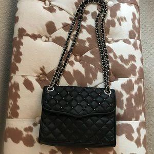 Rebecca Minkoff Quilted Black Studded Bag